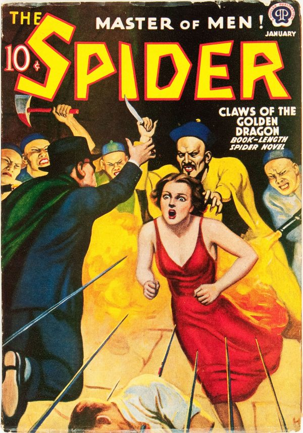 The Spider - January 1939