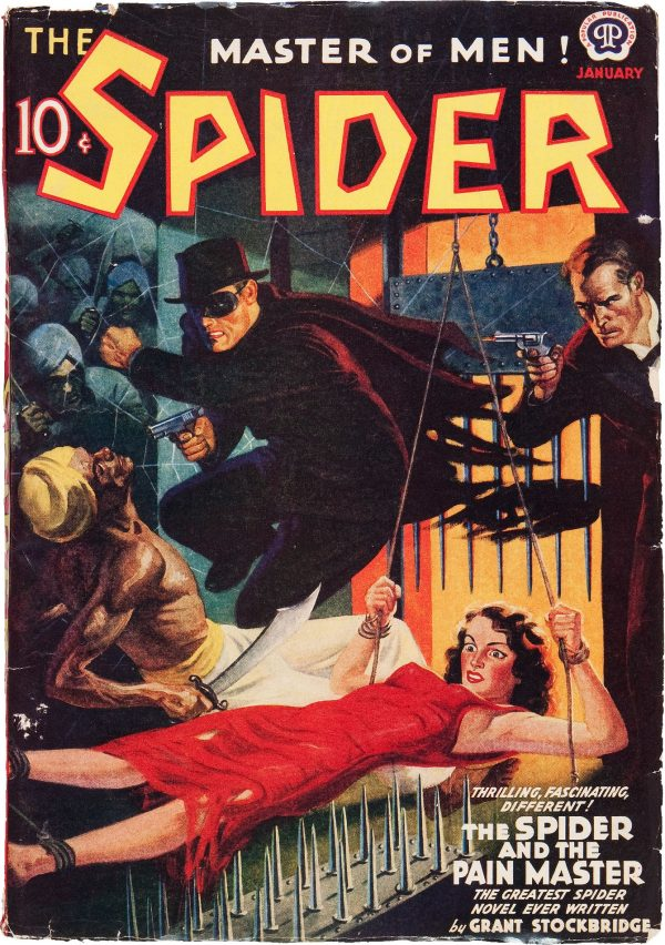 The Spider - January 1940