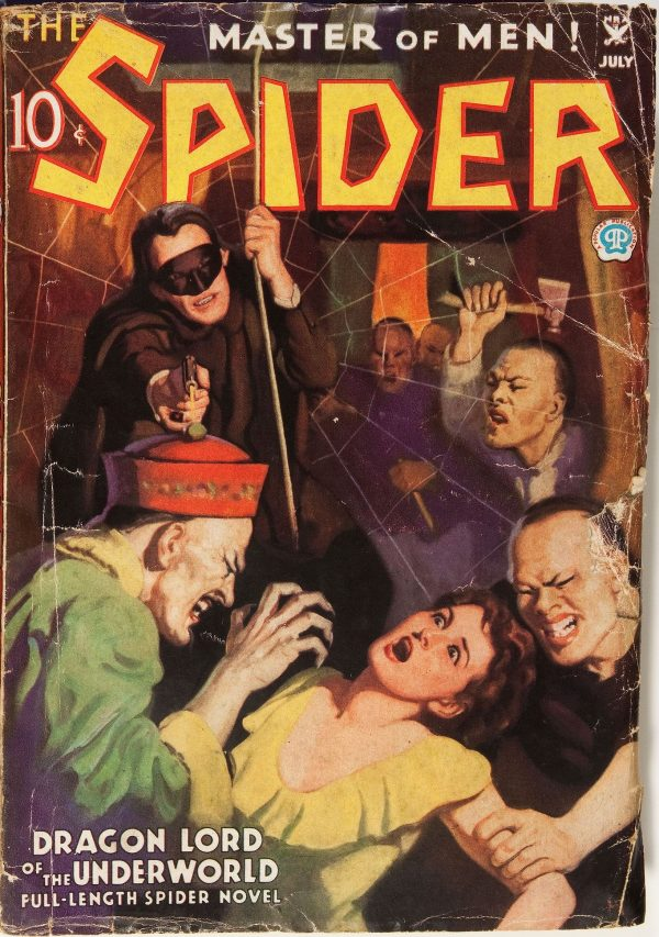 The Spider July 1935