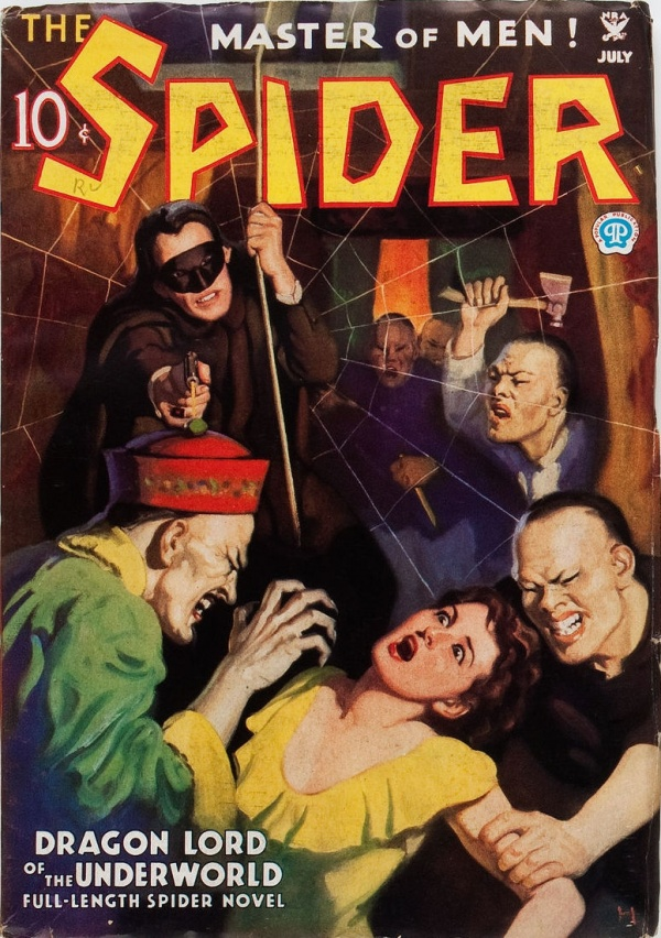 The Spider - July 1935