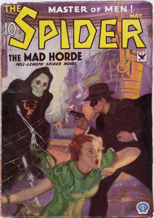 The Spider - May 1934