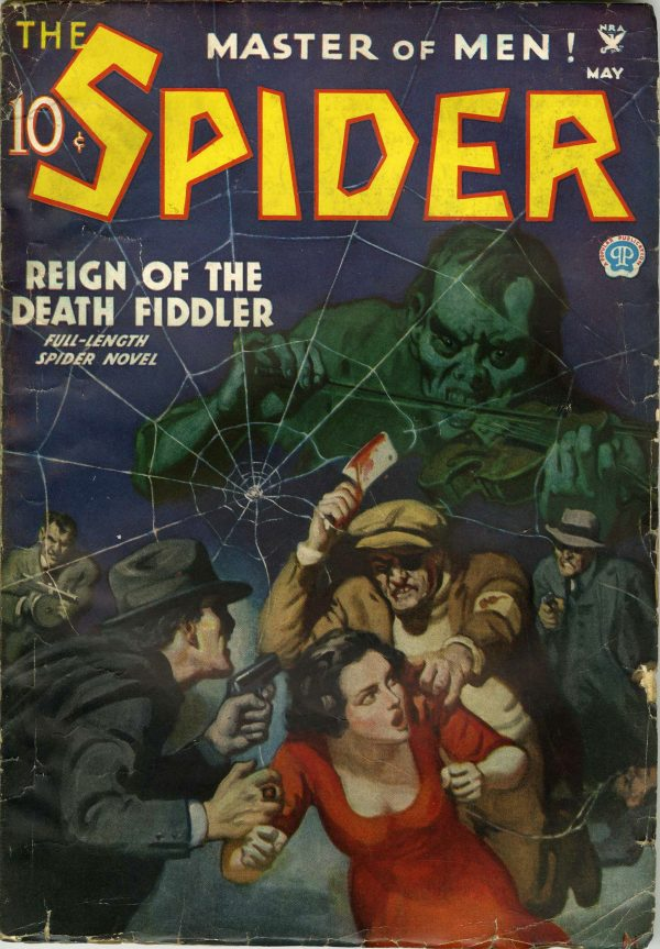 The Spider May 1935
