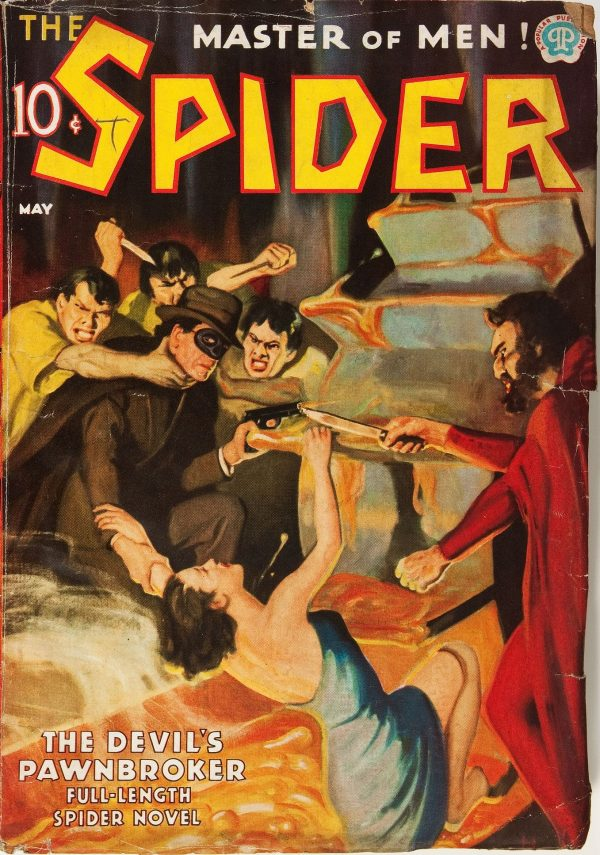 The Spider May 1937