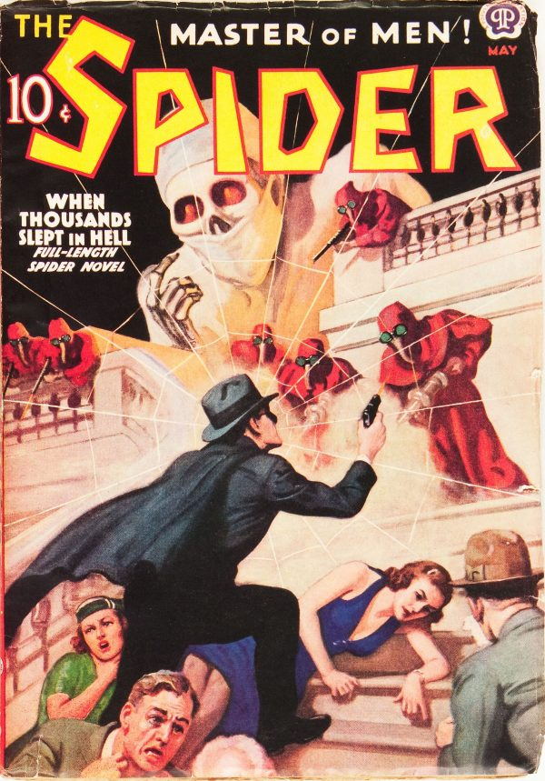 The Spider - May 1938