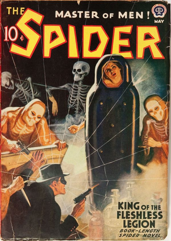The Spider May 1939