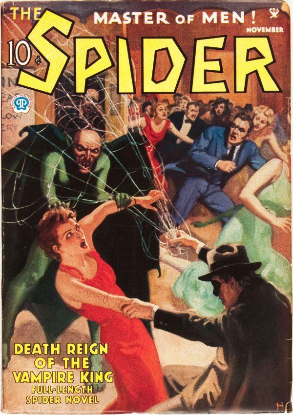 The Spider - November 1935
