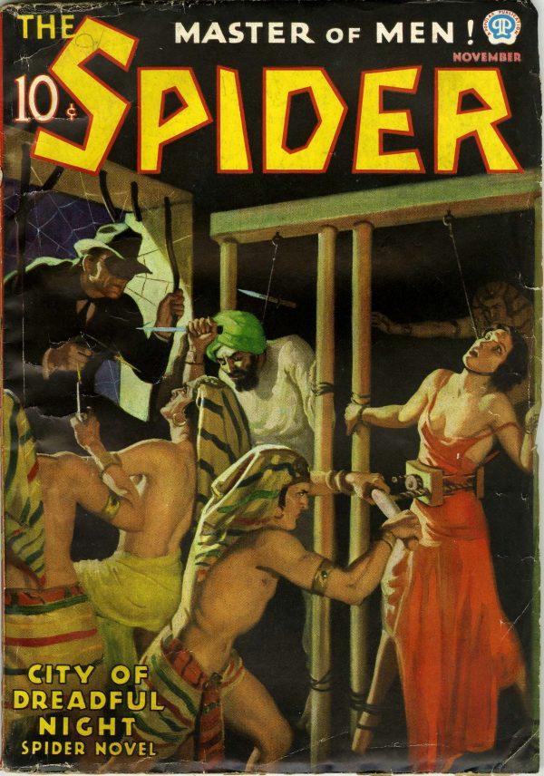The Spider November 1936