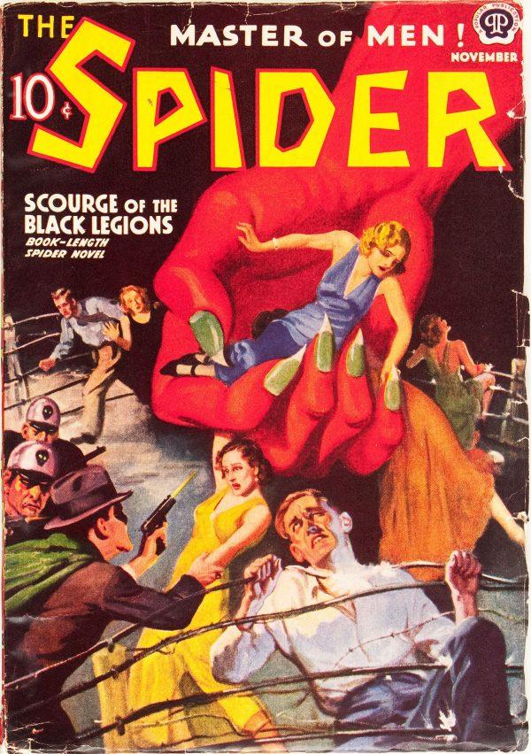 The Spider - November 1938