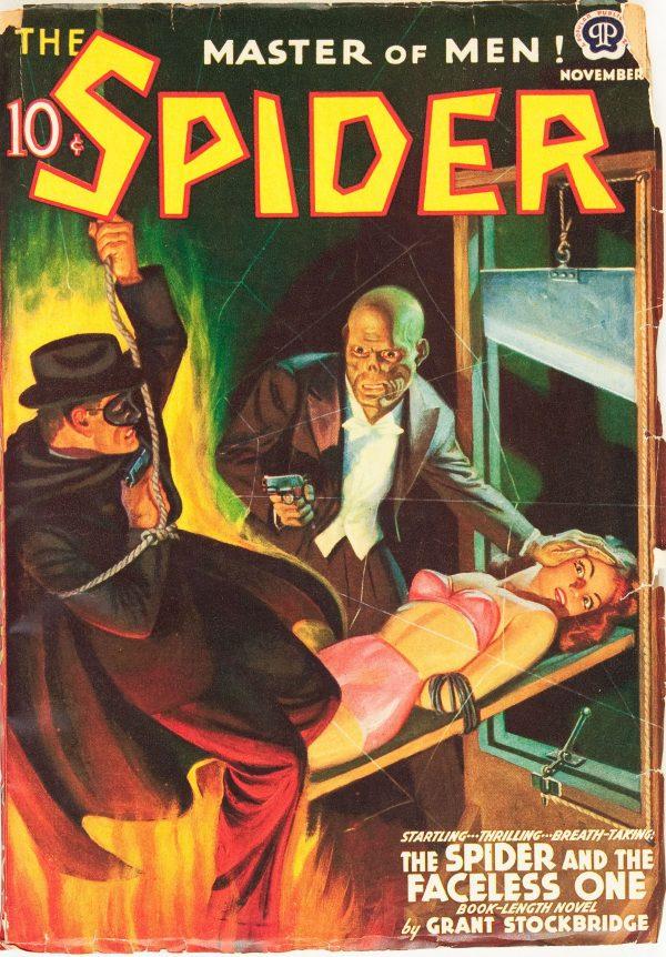 The Spider - November 1939