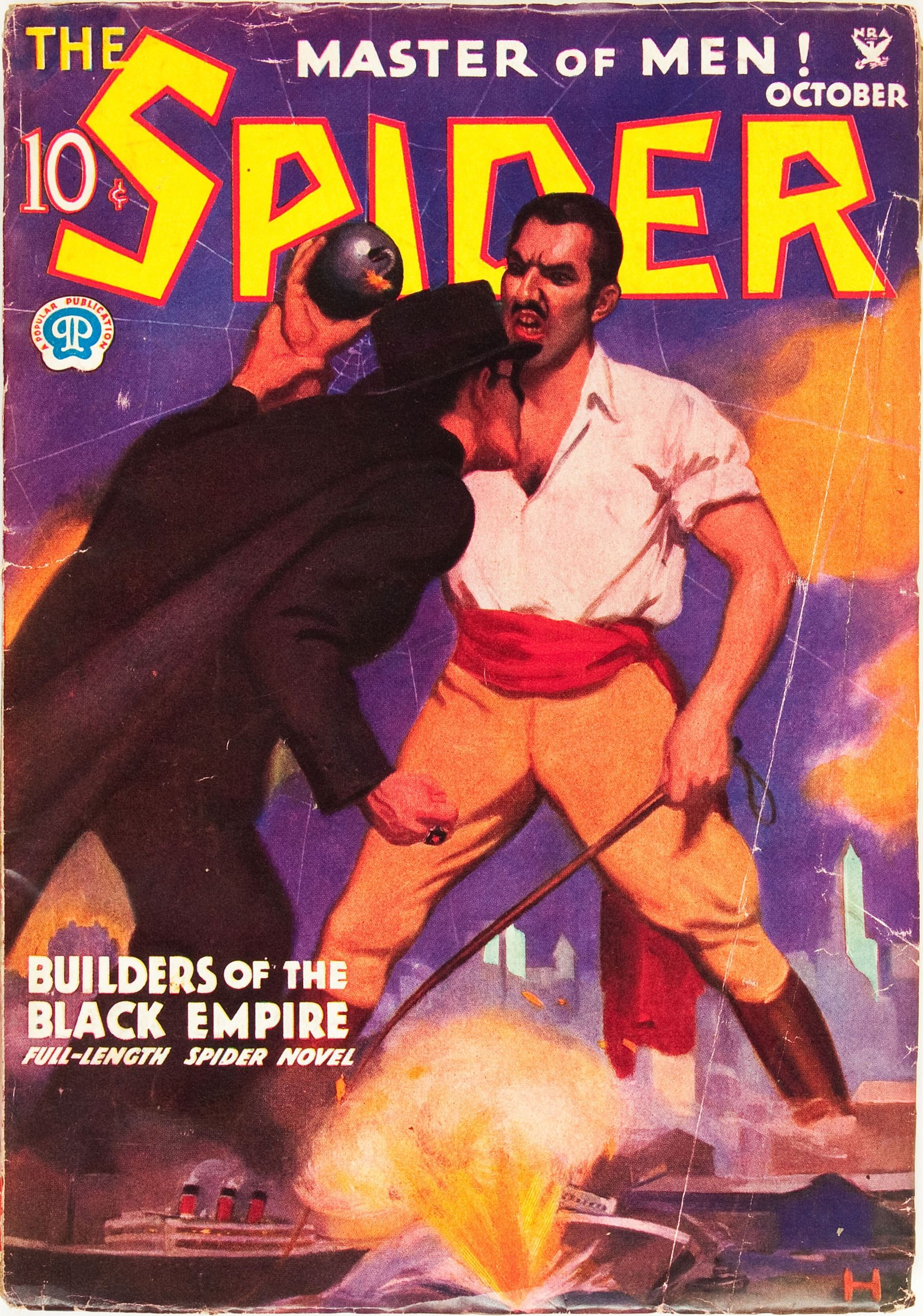 The Spider - October 1934