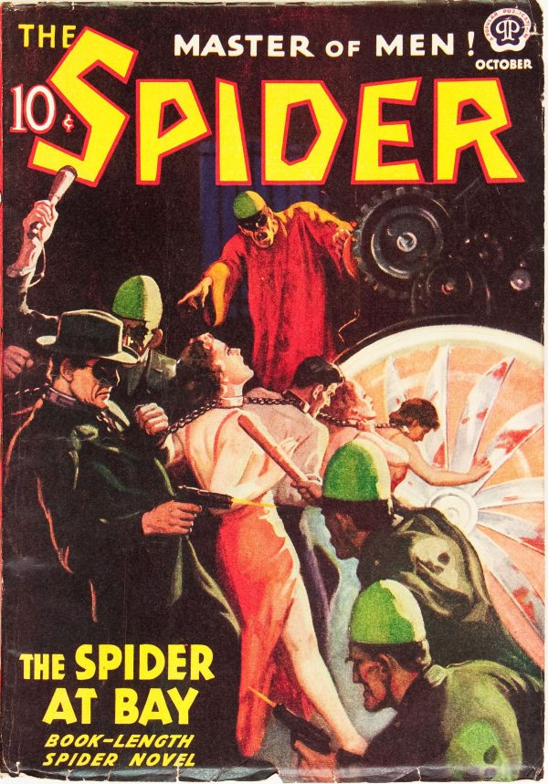 The Spider - October 1938