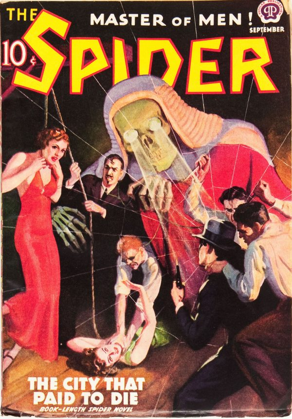 The Spider - September 1938