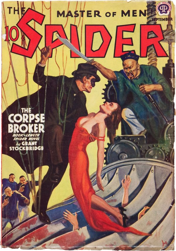 The Spider - September 1939
