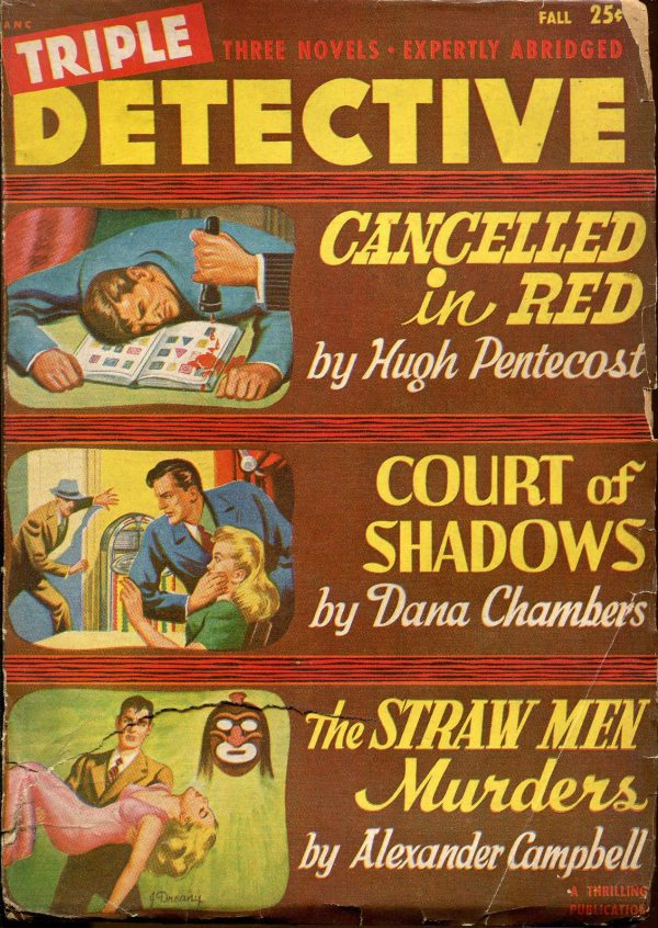 Triple Detective Pulp-Fall, 1949