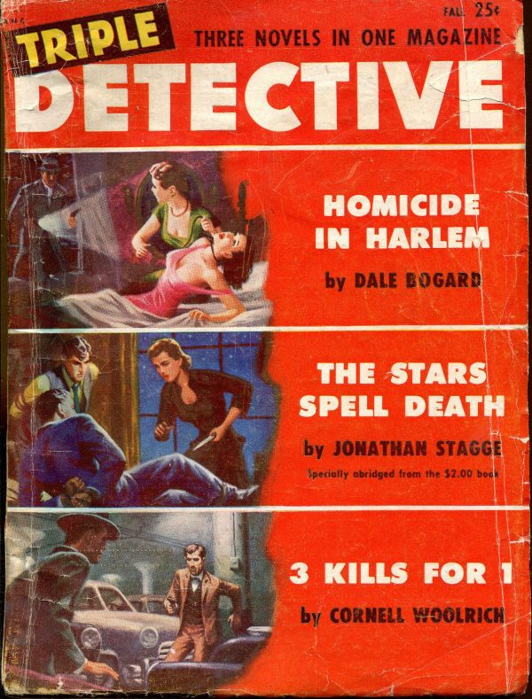 Triple Detective Pulp-Fall, 1952