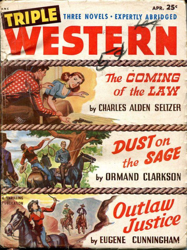 Triple Western Pulp-April, 1951