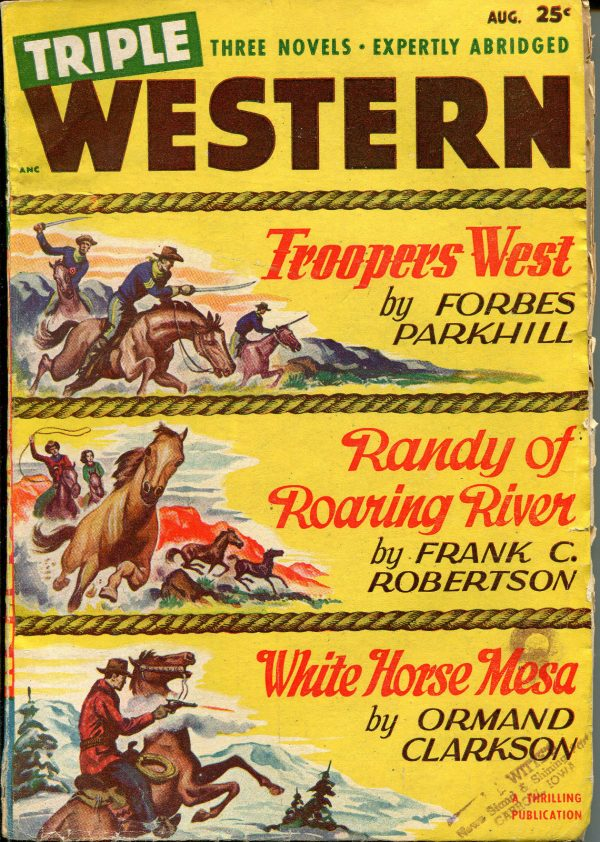 Triple Western Pulp-August, 1948
