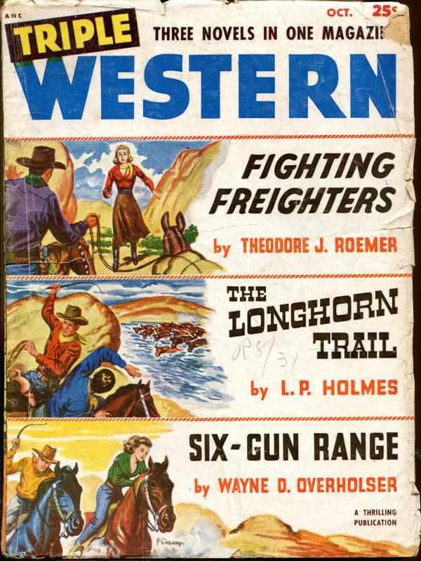 Triple Western Pulp-October, 1951