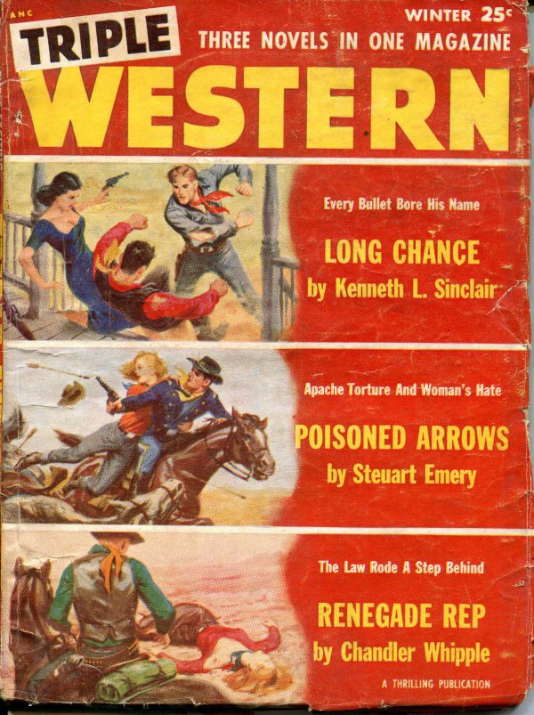 Triple Western Pulp-Winter, 1955
