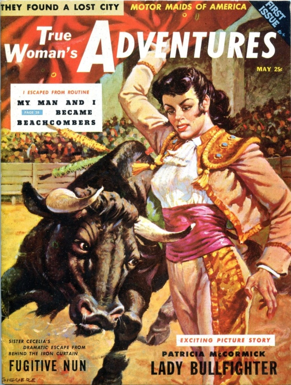 True Woman's Adventure Issue #1 May 1956