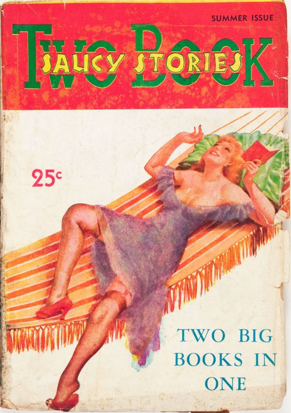 Two Book Saucy Stories V1#1 1936