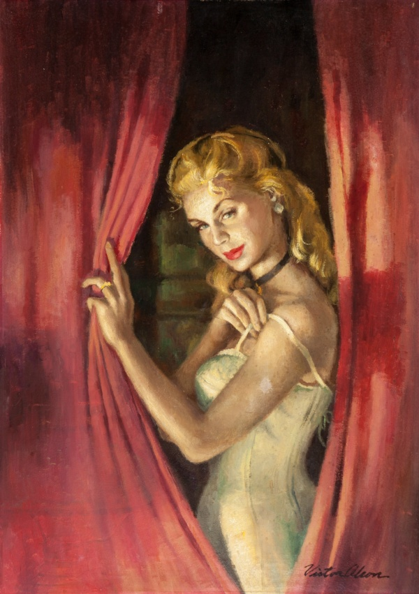 Waltz into Darkness, paperback cover, 1954