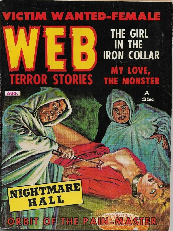 Web Terror Stories Aug 1962
