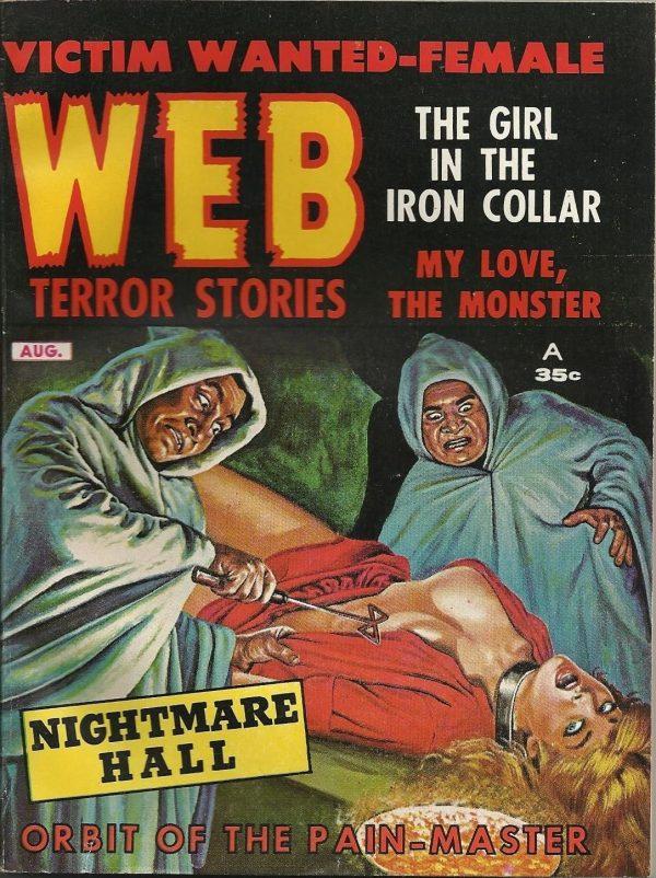 Web Terror Stories August 1962