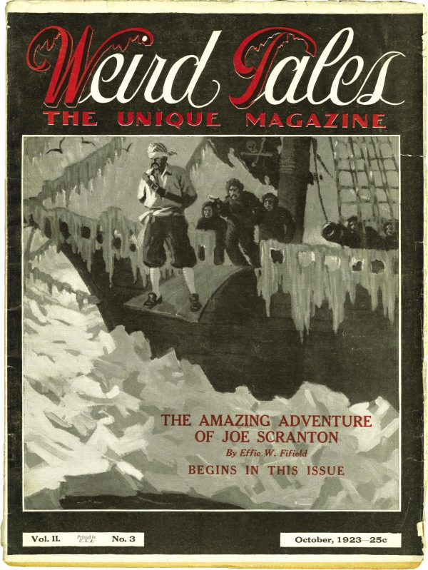 Weird Tales October 1923