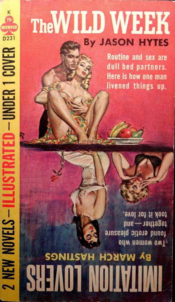 Midwood D-231 Paperback Original (1963).  Cover Art by Rader.  Interior  Art by Frazetta