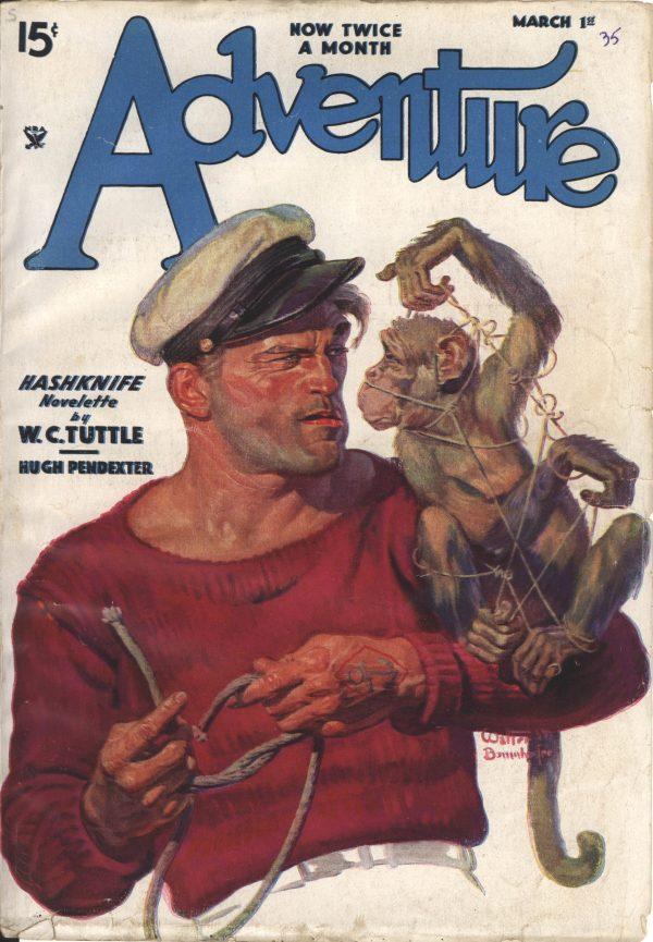Adventure  March 1st 1935