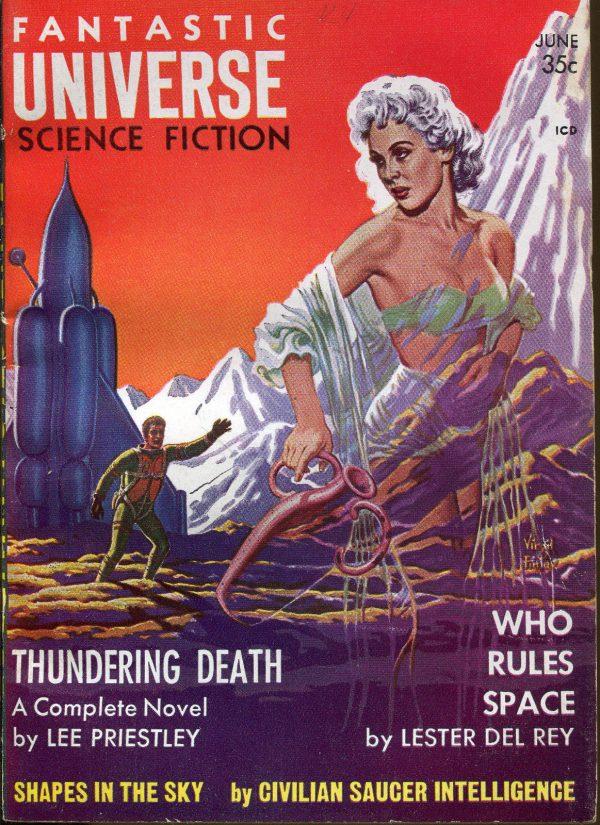 Fantastic Universe June, 1958