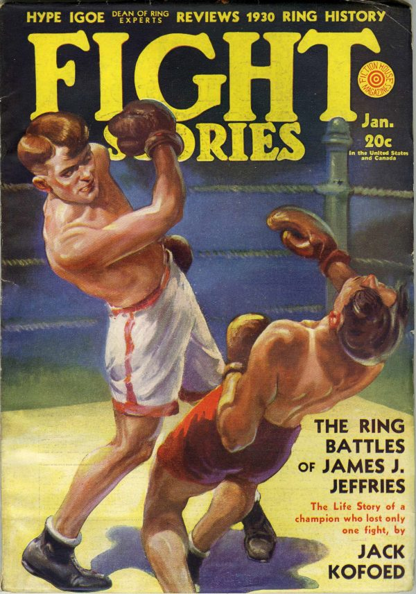 Fight Stories January 1931