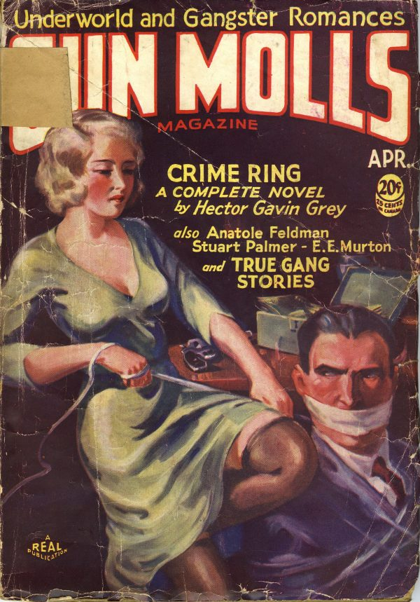 Gun Molls Magazine April 1932