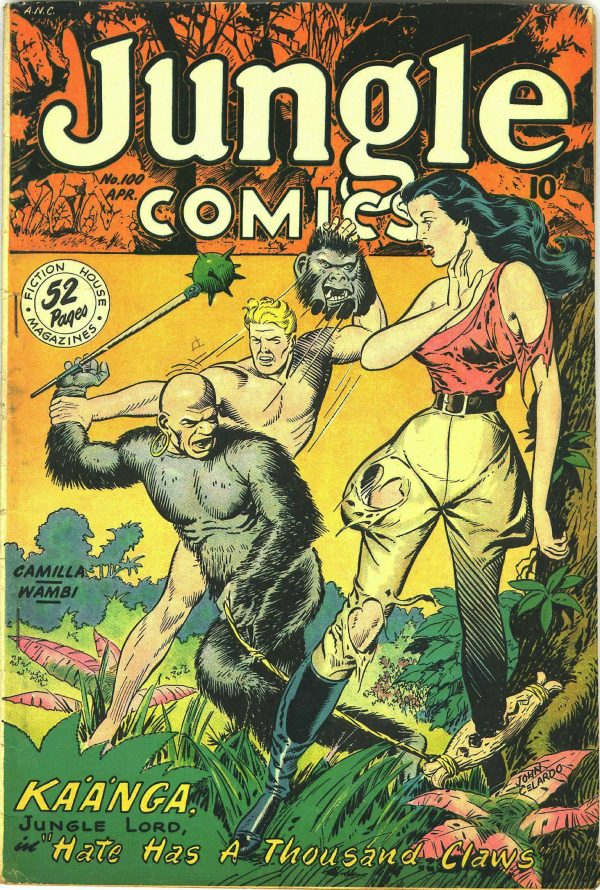 Jungle Comics #100 1948