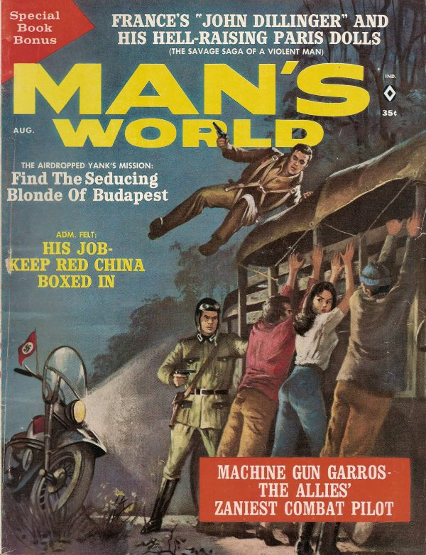Man's World August 1962