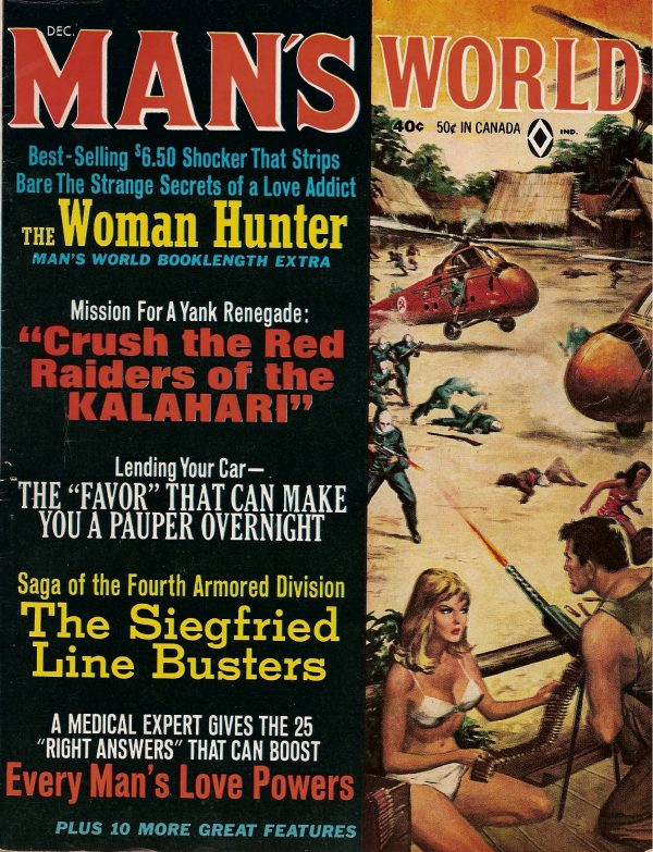 Man's World December 1965