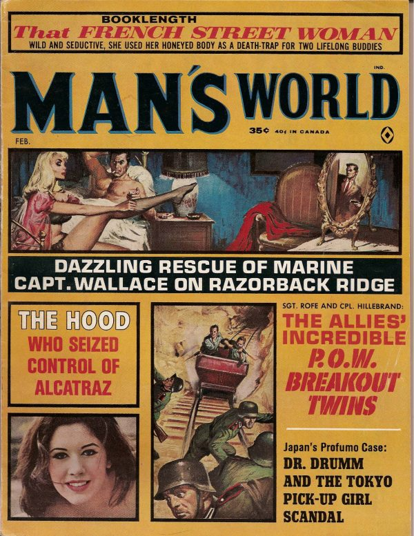 Man's World February 1964