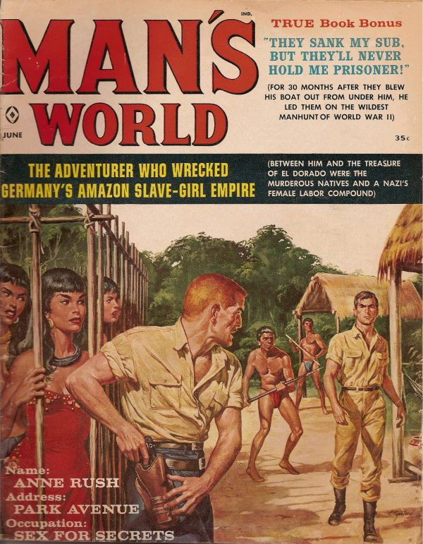 Man's World June 1960