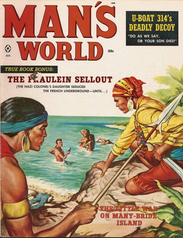 Man's World October 1959
