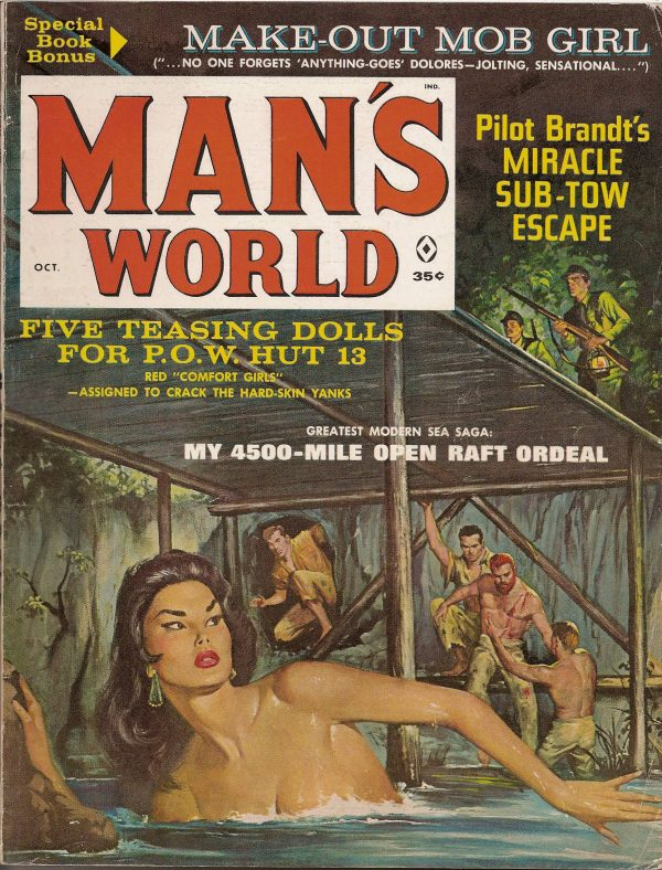 Man's World October 1962