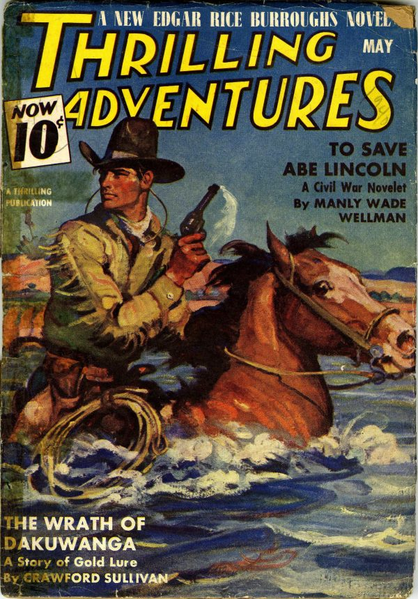 May 1940 Thrilling Adventures