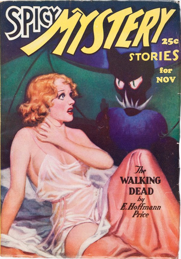 Spicy Mystery Stories - November 1935