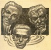 Stirring Science Fiction March 1942 - Interior 8  by Hannes Bok thumbnail