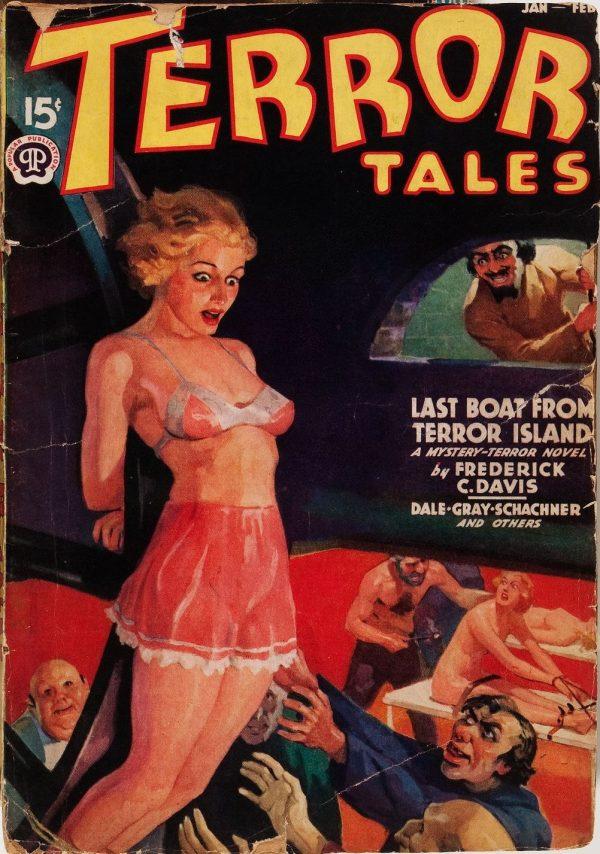 Terror Tales January 1938