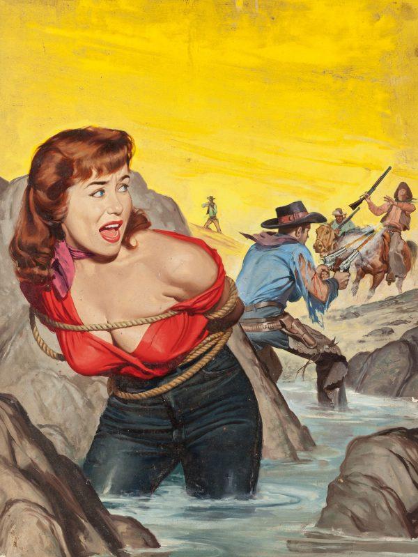 True Men Stories magazine cover, December 1958