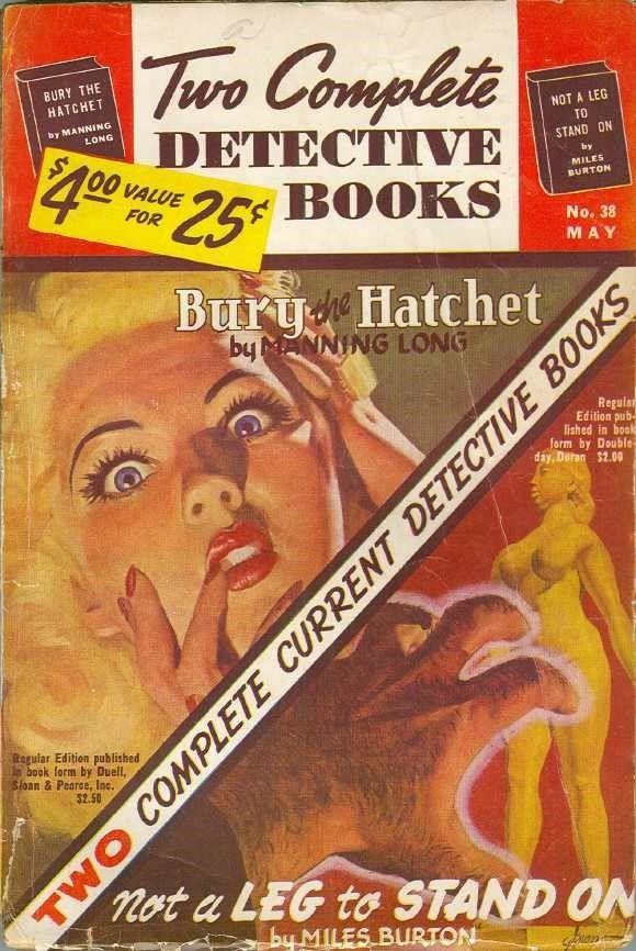 Two Complete Detective Books May 1946