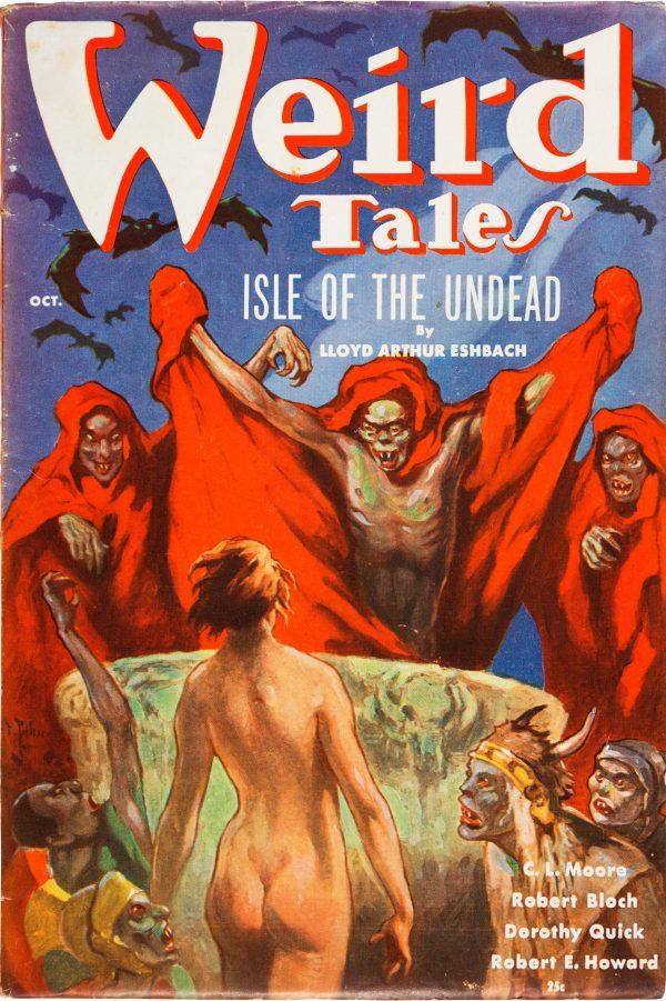 Weird Tales - October 1936