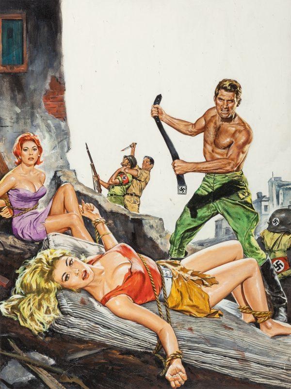 World of Men magazine cover, April 1966