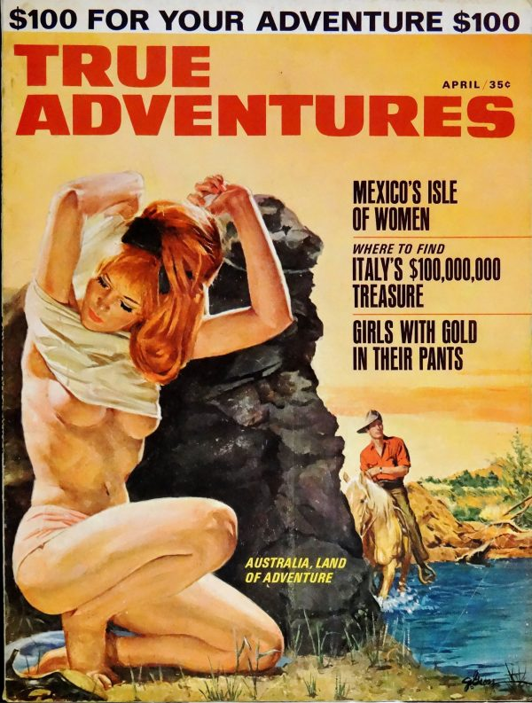 True Adventures (April, 1965).  Cover Art by George Gross